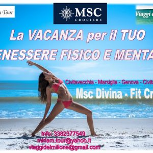 Msc Divina Fit Cruise