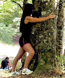 Abbraccio degli alberi nel Pollino